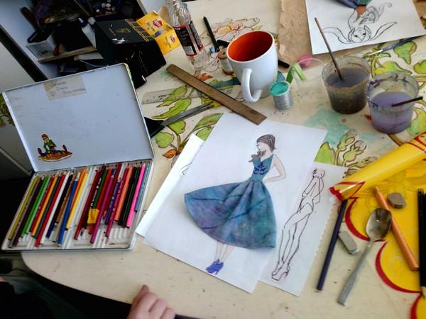 Занятия по Fashion-дизайну