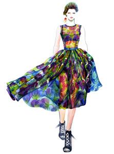 sunnygu_runwayss2012_Dolce - Gabbana_Gertrud Hegelund
