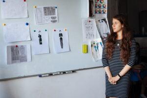 """Защита дипломных работ студентов art design studio """"FAVARELI"""""""